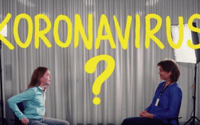 Informasjonsfilm om koronaviruset